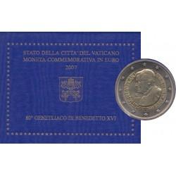 Vatican - 2007 - 80 ans de Benoît XVI