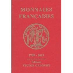 Monnaies françaises (Gadoury 2019
