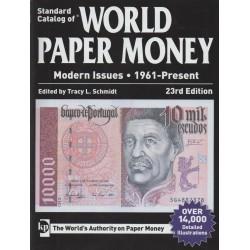 World paper money depuis 1961 (Krause - 15ème édition)