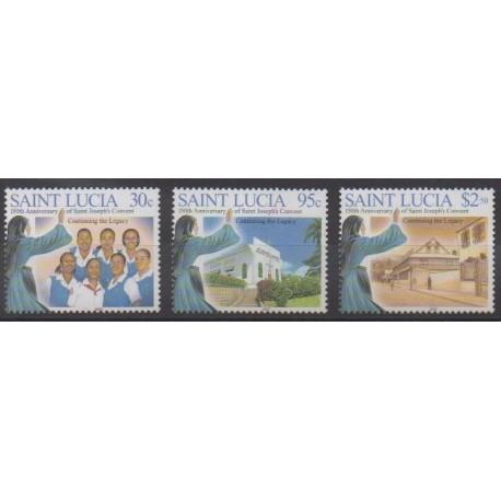 St. Lucia - 2005 - Nb 1212/1214 - Religion