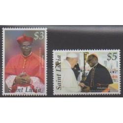 Sainte-Lucie - 2014 - No 1299/1300 - Religion