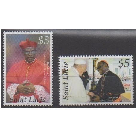 St. Lucia - 2014 - Nb 1299/1300 - Religion