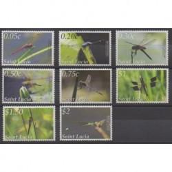 Sainte-Lucie - 2013 - No 1291/1298 - Insectes