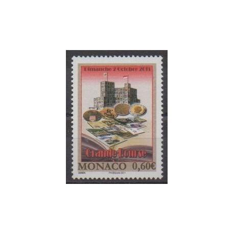 Monaco - 2011 - No 2794 - Monnaies, billets ou médailles