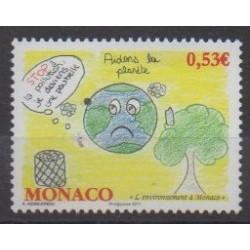Monaco - 2011 - No 2784 - Environnement - Dessins d'enfants