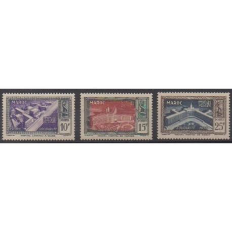 Maroc - 1951 - No 302/304
