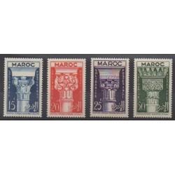 Maroc - 1952 - No 315/318