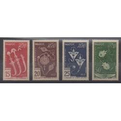 Morocco - 1953 - Nb 320/322 - PA93