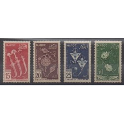 Maroc - 1953 - No 320/322 - PA93