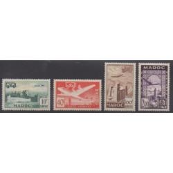 Morocco - 1952 - Nb PA85/PA88