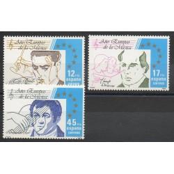 Espagne - 1985- No 2421/2423 - Musique
