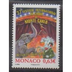 Monaco - 2013 - No 2858 - Cirque