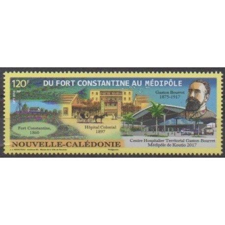 Nouvelle-Calédonie - 2019 - No 1380 - Santé ou Croix-Rouge