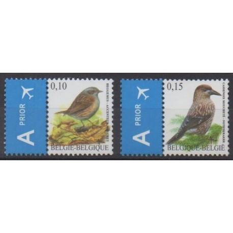 Belgique - 2008 - No 3731/3732 - Oiseaux