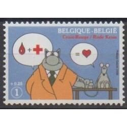 Belgique - 2008 - No 3729 - Santé ou Croix-Rouge