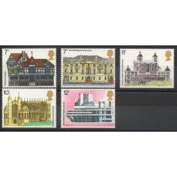 Great Britain - 1975- Nb 751/755 - Monuments