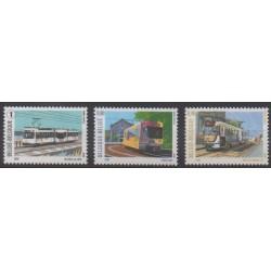 Belgique - 2008 - No 3754/3756 - Transports