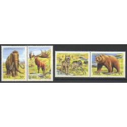 Irlande - 1999- No 1188/1191 - Animaux