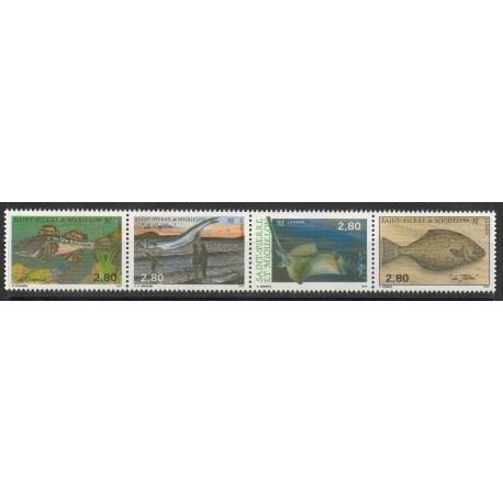 Saint-Pierre et Miquelon - 1993- No 580/583