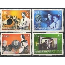 Irlande - 2001- No 1321/1324 - Sciences et techniques