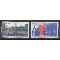Danemark - 1986- No 872/873 - Sites