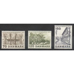 Danemark - 1975- No 598/600 - Sites