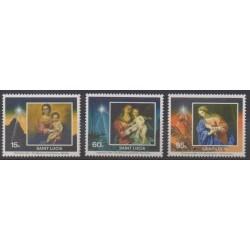 St. Lucia - 1993 - Nb 997/999 - Christmas