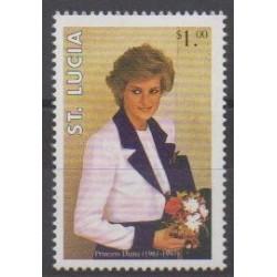 Sainte-Lucie - 1997 - No 1079 - Royauté - Principauté