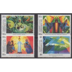St. Lucia - 1997 - Nb 1075/1078 - Christmas