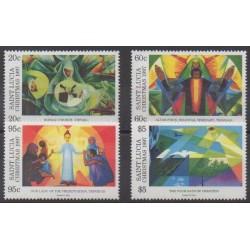 Sainte-Lucie - 1997 - No 1075/1078 - Noël