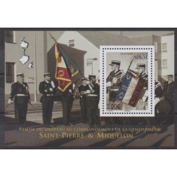 Saint-Pierre and Miquelon - Blocks and sheets - 2019 - F1226 - Flags