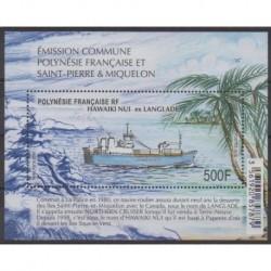 Polynesia - Blocks and sheets - 2019 - BF Bateau Hawaiki Nui - Boats