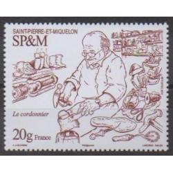 Saint-Pierre et Miquelon - 2019 - No 1229 - Artisanat ou métiers