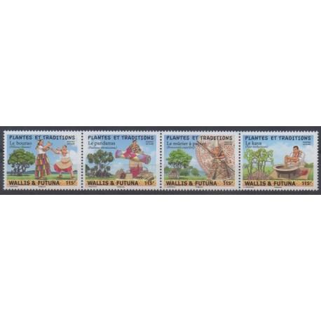 Wallis et Futuna - 2019 - No 920/923 - Arbres