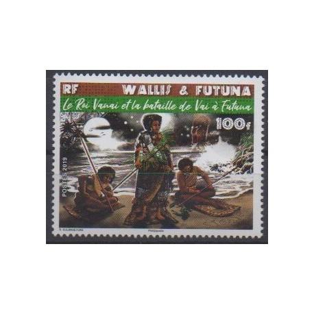Wallis et Futuna - 2019 - No 914 - Histoire militaire