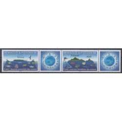 Wallis et Futuna - 2019 - No 907/908 - Animaux marins - Environnement