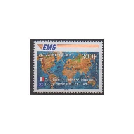 Wallis et Futuna - 2019 - No 910 - Service postal