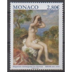 Monaco - 2020 - Renoir - La baigneuse - Peinture
