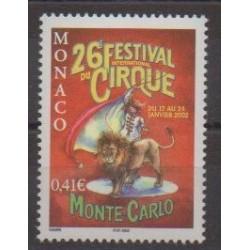 Monaco - 2002 - No 2319 - Cirque
