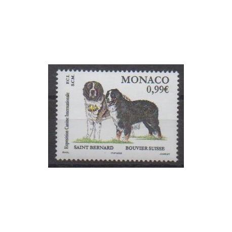 Monaco - 2002 - No 2344 - Chiens