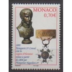 Monaco - 2002 - Nb 2341 - Coins, Banknotes Or Medals - Napoleon