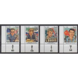Angola - 2019 - Nb 1848/1851 - Chess
