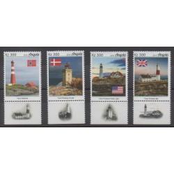 Angola - 2019 - Nb 1860/1863 - Lighthouses