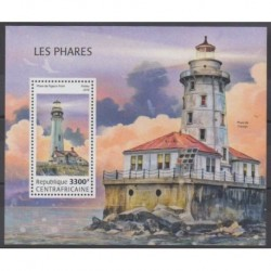 Central African Republic - 2018 - Nb BF1304 - Lighthouses