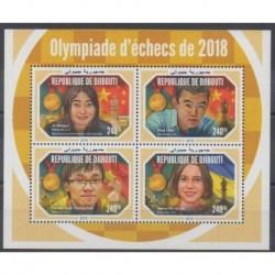 Djibouti - 2018 - Nb 2325/2328 - Chess