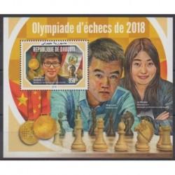 Djibouti - 2018 - BF Olympiade d'échecs de 2018 - Échecs