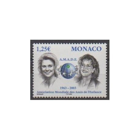 Monaco - 2002 - No 2379 - Enfance