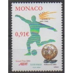 Monaco - 2002 - Nb 2372 - Football