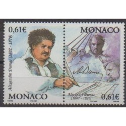 Monaco - 2002 - No 2363/2364 - Littérature