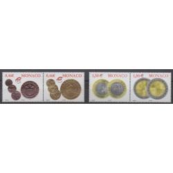 Monaco - 2002 - Nb 2356/2359 - Coins, Banknotes Or Medals